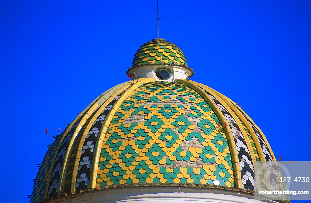 Dome of cathedral, Sessa Aurunca, Campania, Italy