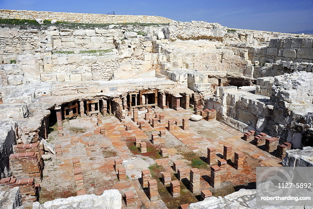 Therme, Kourion, antique ruins, Cyprus