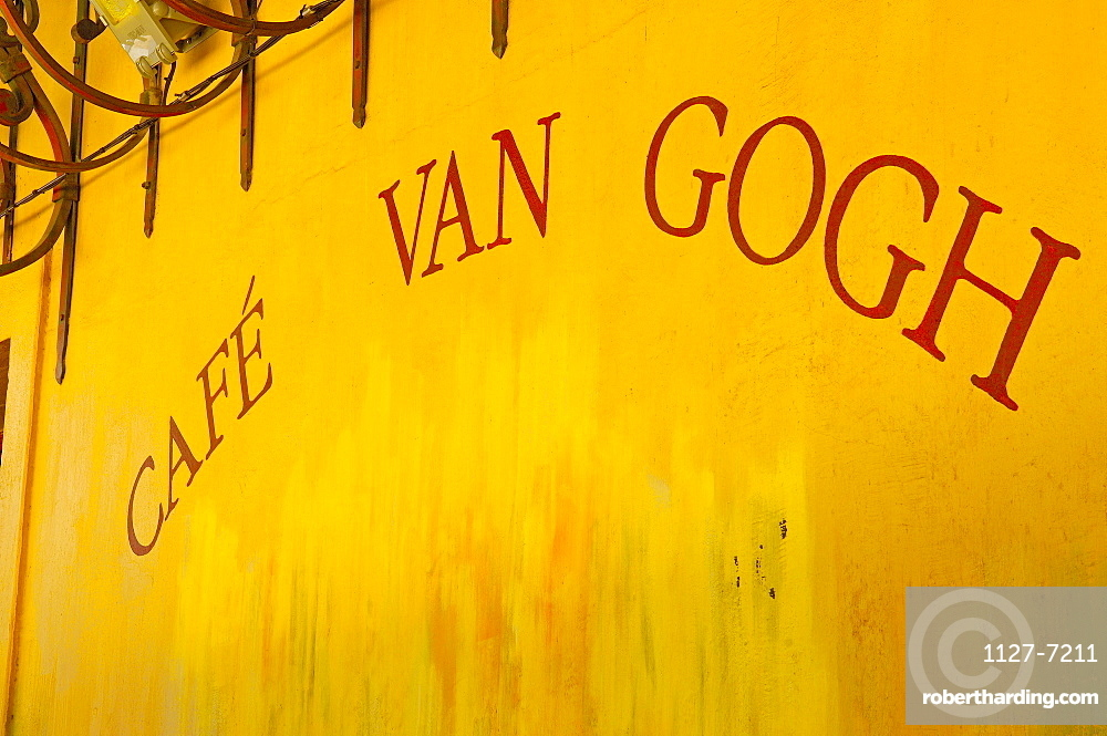 Cafe Van Gogh, Place du Forum, old town, Arles, Bouches-du-Rhone, Provence, Southern France