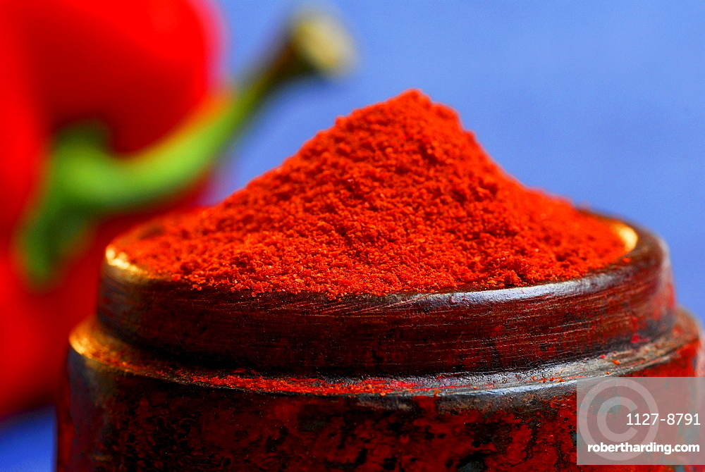 Pepper powder / (Capsicum annuum)