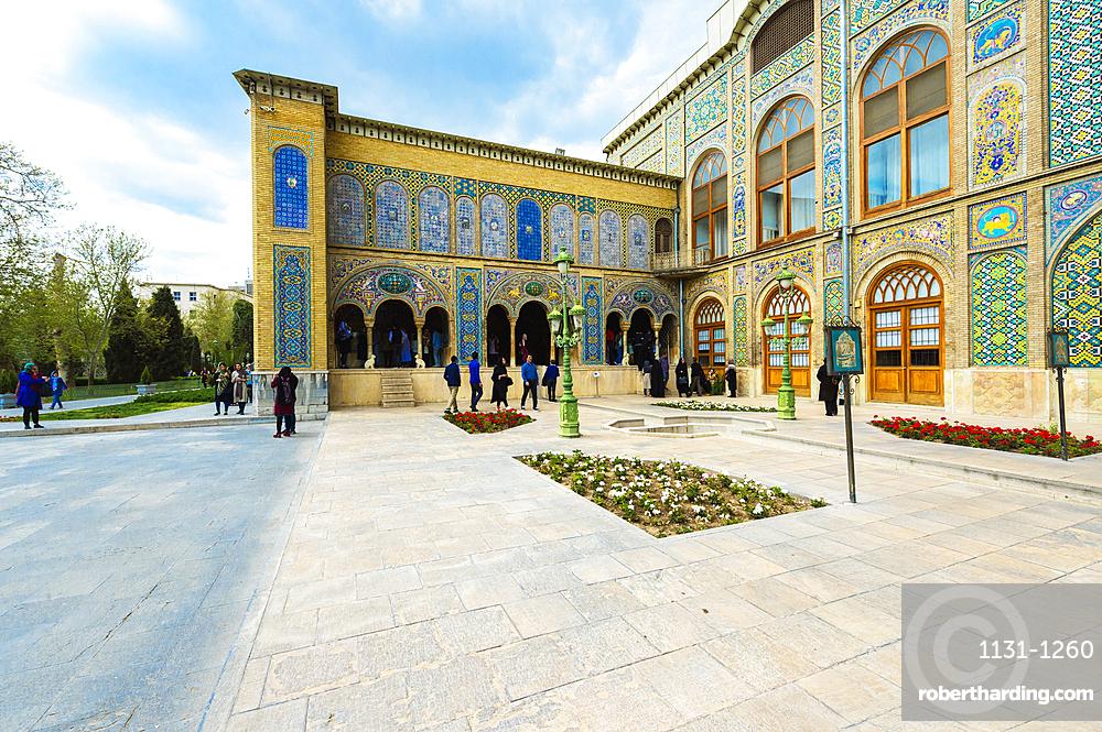 Golestan Palace, UNESCO World Heritage Site, Karim Khani Nook House, Tehran, Islamic Republic of Iran, Middle East