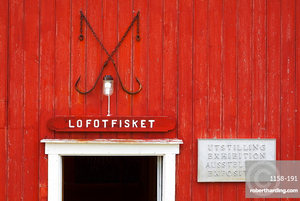 Museum Nord building exterior, Storvagen, Austvagsoya, Lofoten, Nordland, Norway, Scandinavia, Europe
