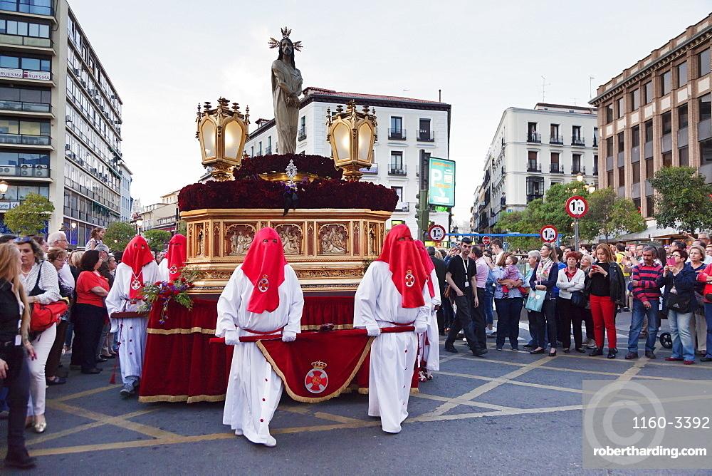 Easter procession, Semana Santa, Madrid, Spain, Europe