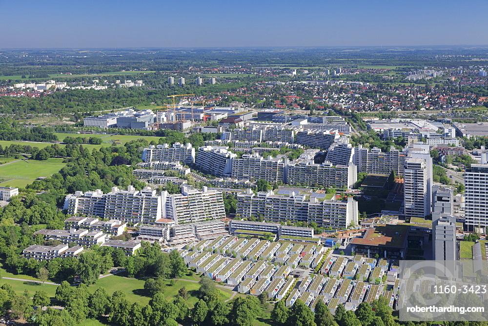 Olympic Village, Munich, Bavaria, Germany, Europe