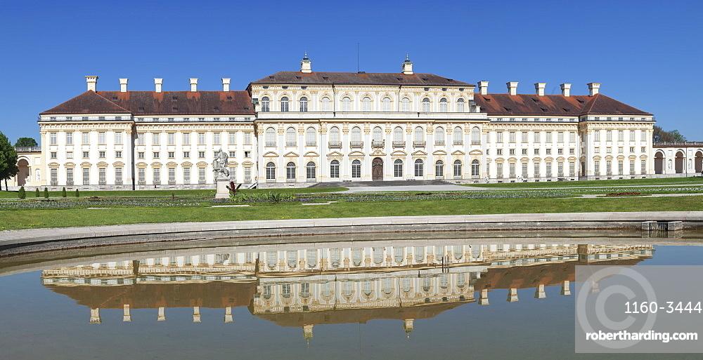 New Schleissheim Palace, Oberschleissheim, Munich, Bavaria, Germany, Europe