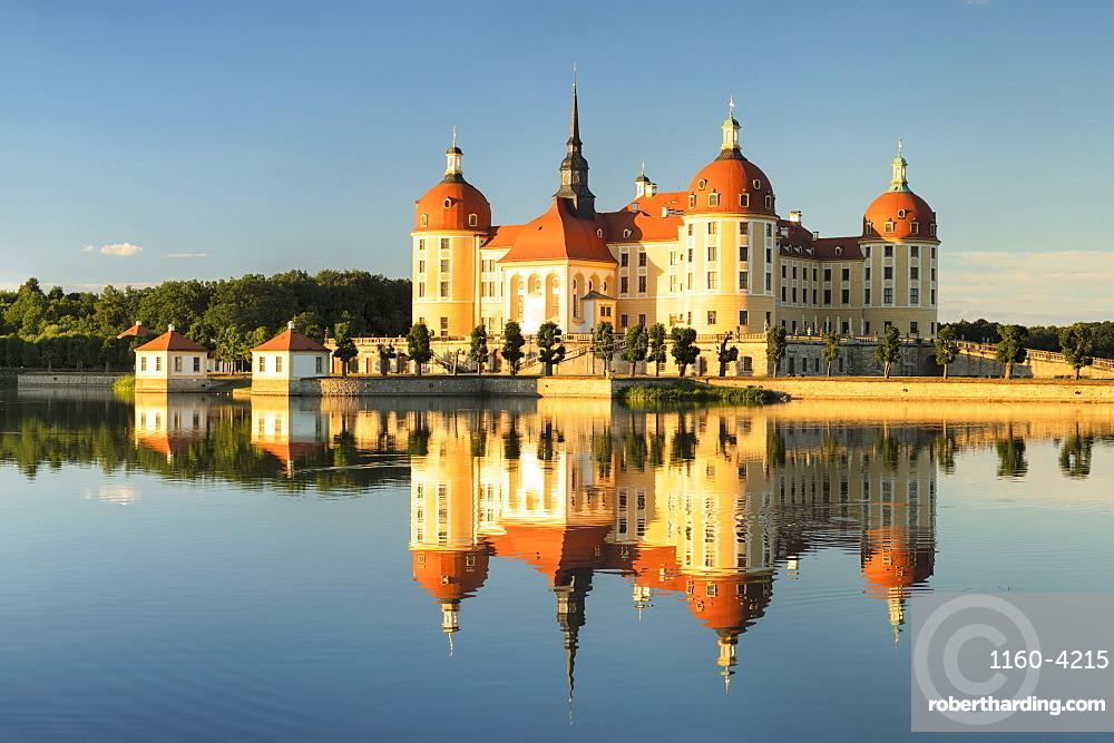 Moritzburg Castle, Moritzburg, Saxony, Germany, Europe