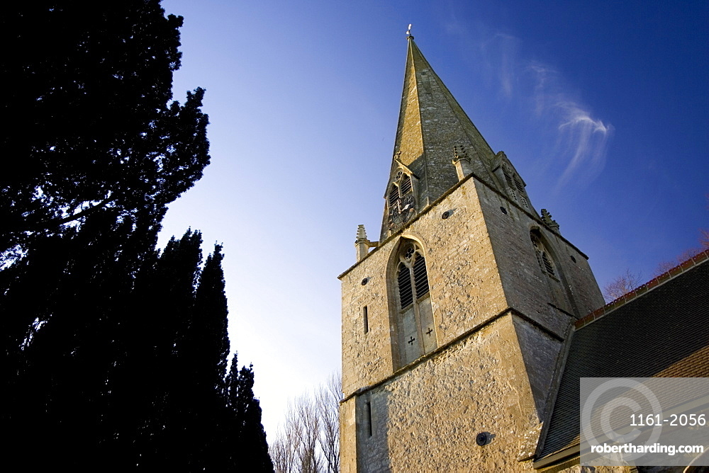 St Peter and St Paul Church, Broadwell, The Cotswolds, Oxfordshire, United Kingdom