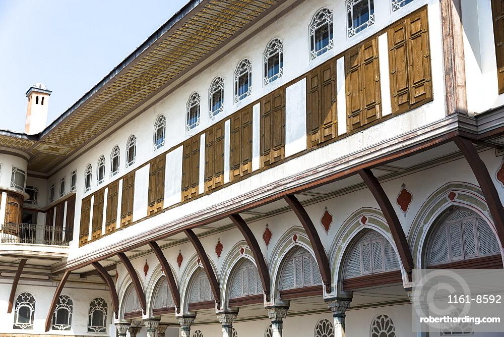 Concubines apartments at Topkapi Palace (Topkapi Sarayi), UNESCO World Heritage Site, part of the Ottoman Empire in Istanbul, Turkey, Europe, Eurasia