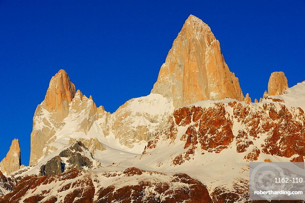 FiztRoy, El Chalten, Santa Cruz, Patagonia, Argentina, South America