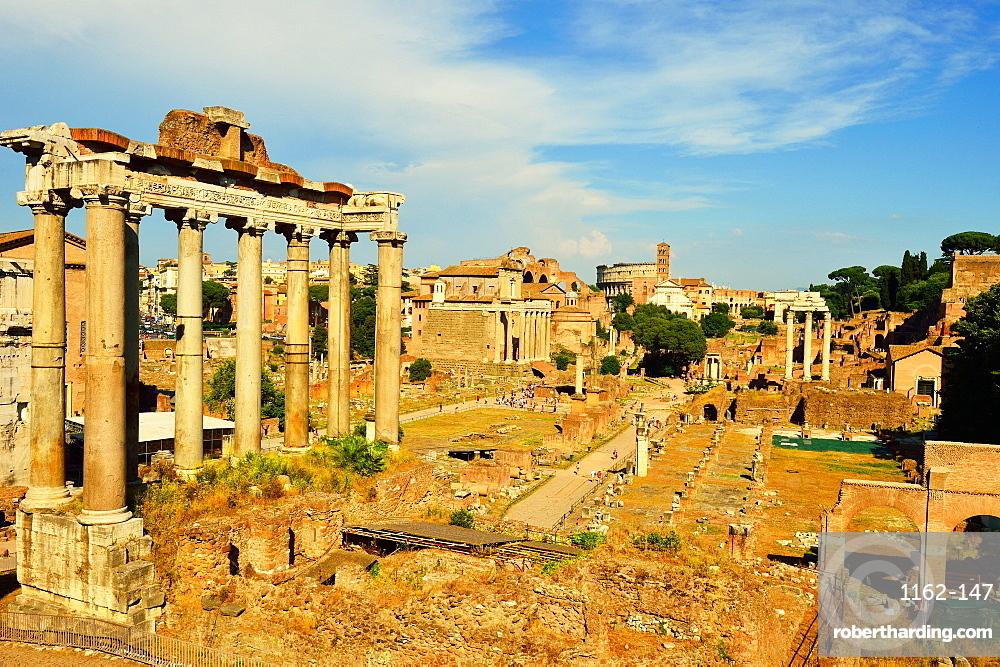 Roman Forum, UNESCO World Heritage Site, Rome, Lazio, Italy, Europe