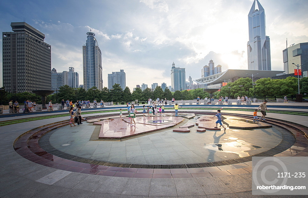 People's Square, Shanghai, China, Asia