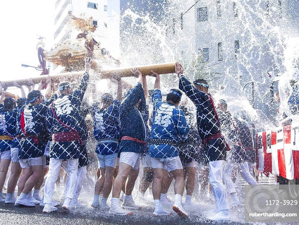 Traditional masturi festival, Tokyo, Japan