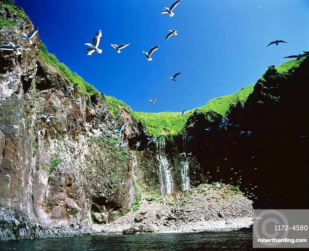 Furepe Falls, Hokkaido, Japan
