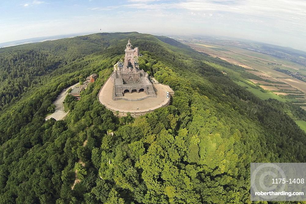 The Emperor William monument, Kyffhäuser, Thuringia, Germany