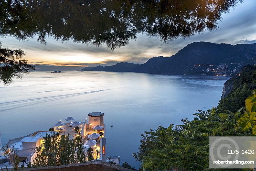 Hotel Casa Angelina, a view over the coast, Amalfi Coast, Italy