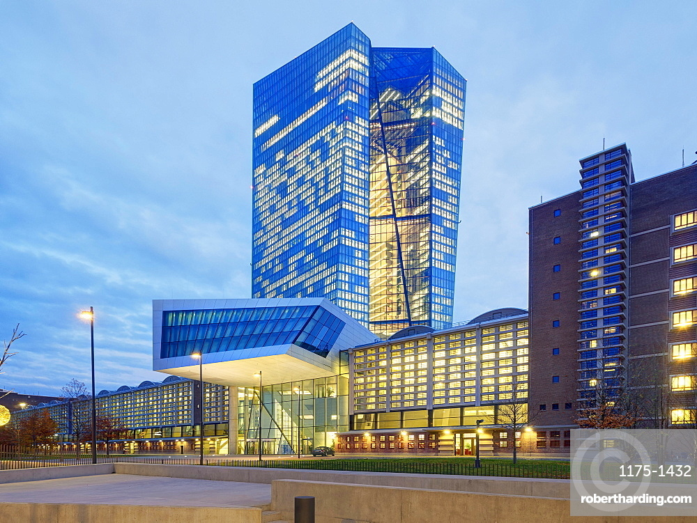 The European Central Bank, Frankfurt am Main, Germany