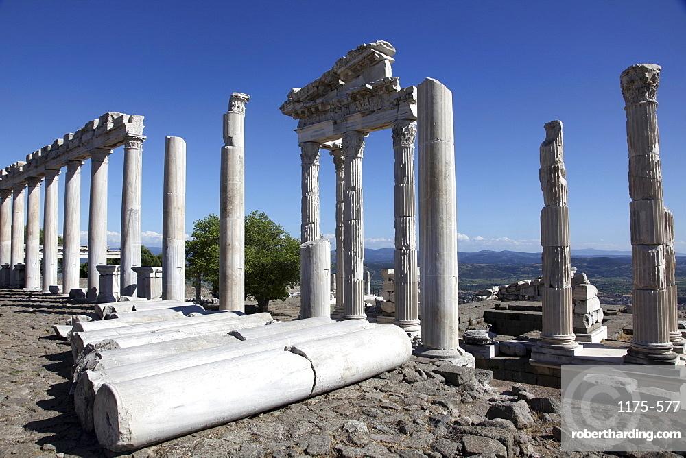 Ancient ruins of Bergama in Izmir, Aegean, Turkey