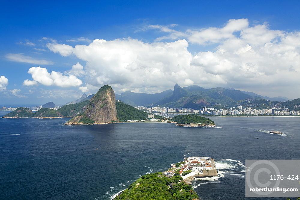 Rio de Janeiro from Niteroi, Rio de Janeiro, Brazil, South America