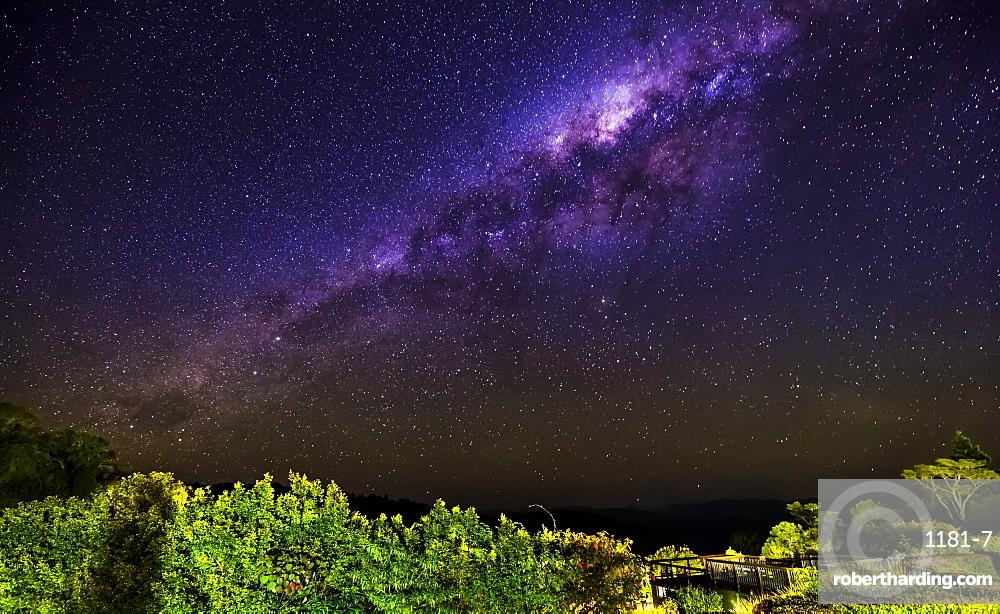 Milky Way at Lamington National Park, Queensland, Australia, Pacific