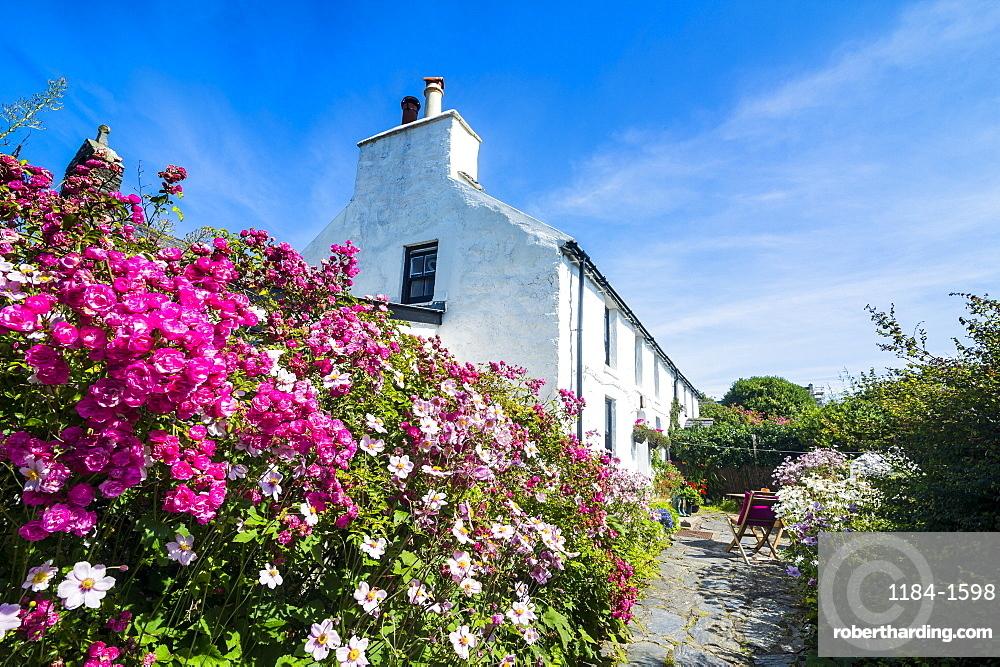 Living museum Cregneash village, Isle of Man, crown dependency of the United Kingdom, Europe