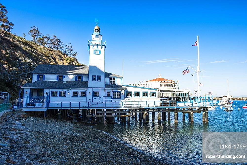Catalina Yacht Club in Avalon, Santa Catalina Island, California, United States of America, North America