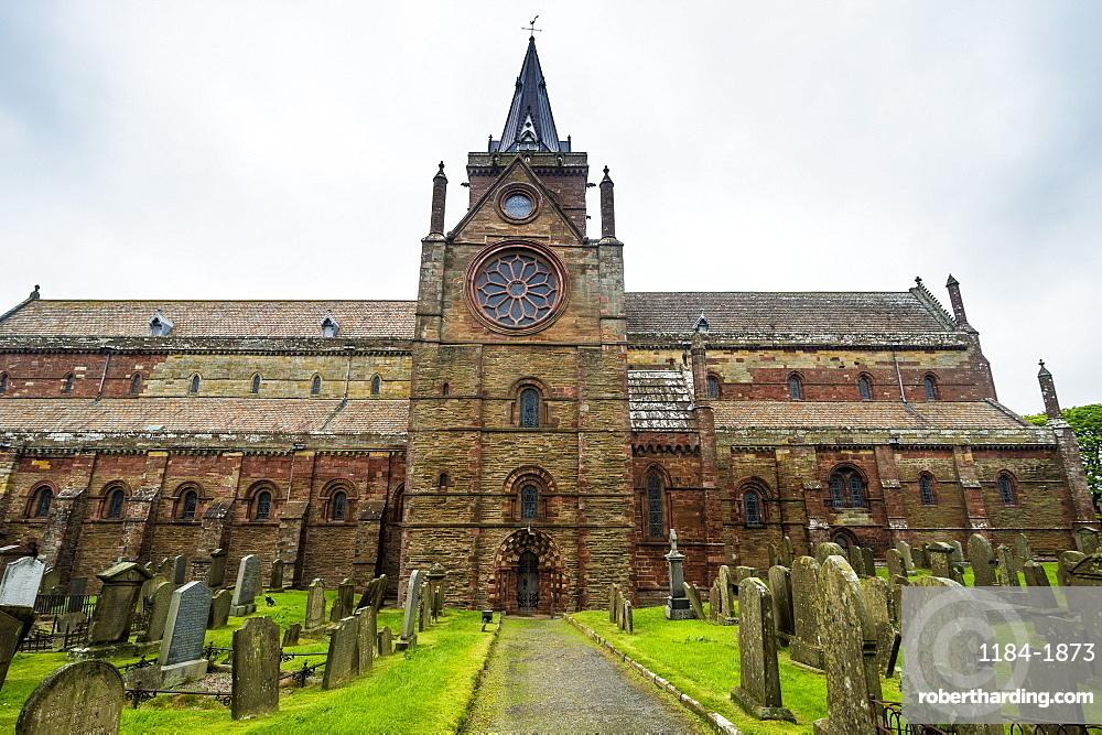 St. Magnus Cathedral, Kirkwall, Orkney Islands, Scotland, United Kingdom, Europe