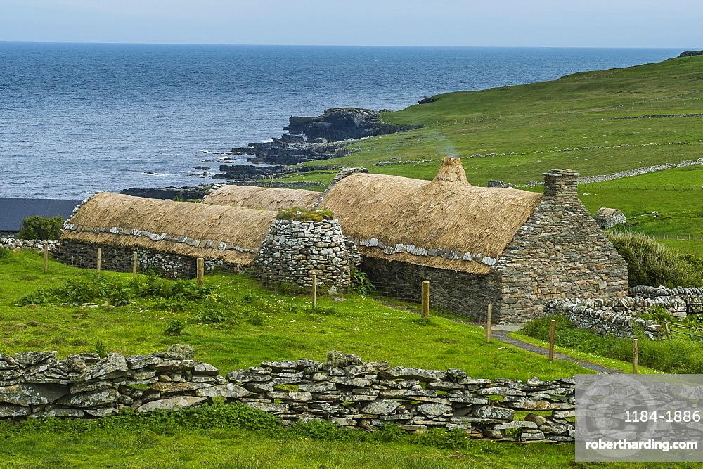 Historic Croft House Museum, Shetland Islands, Scotland, United Kingdom, Europe