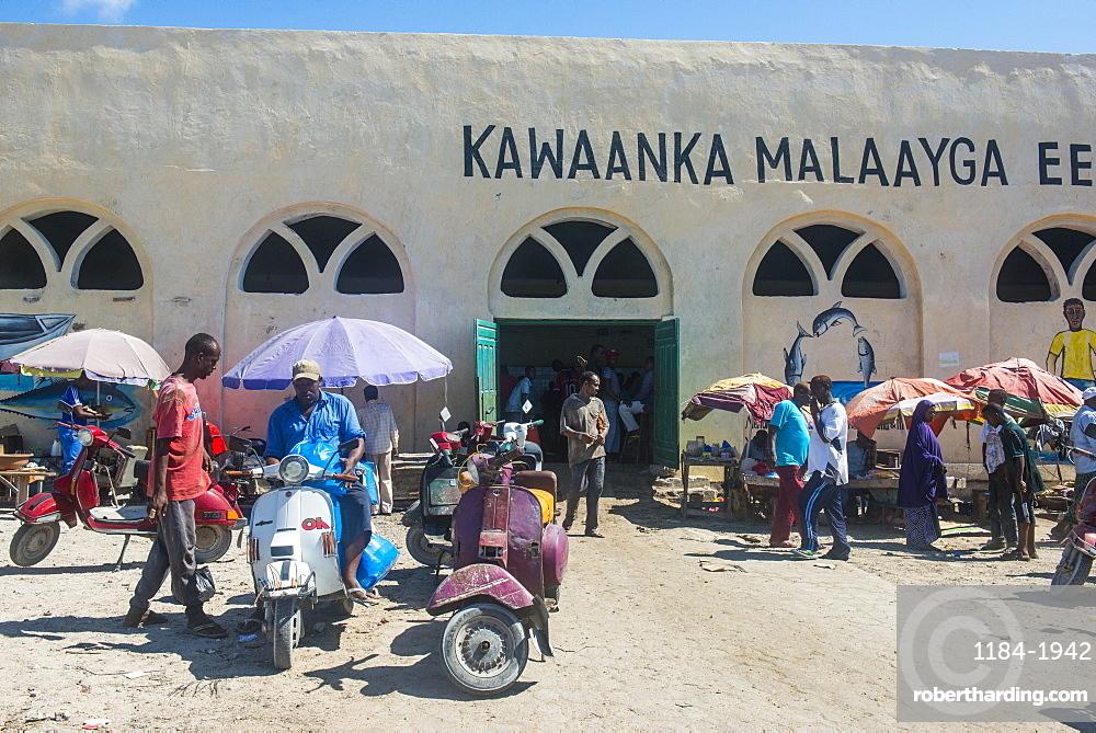 The Fishmarket in Mogadishu, Somalia, Africa