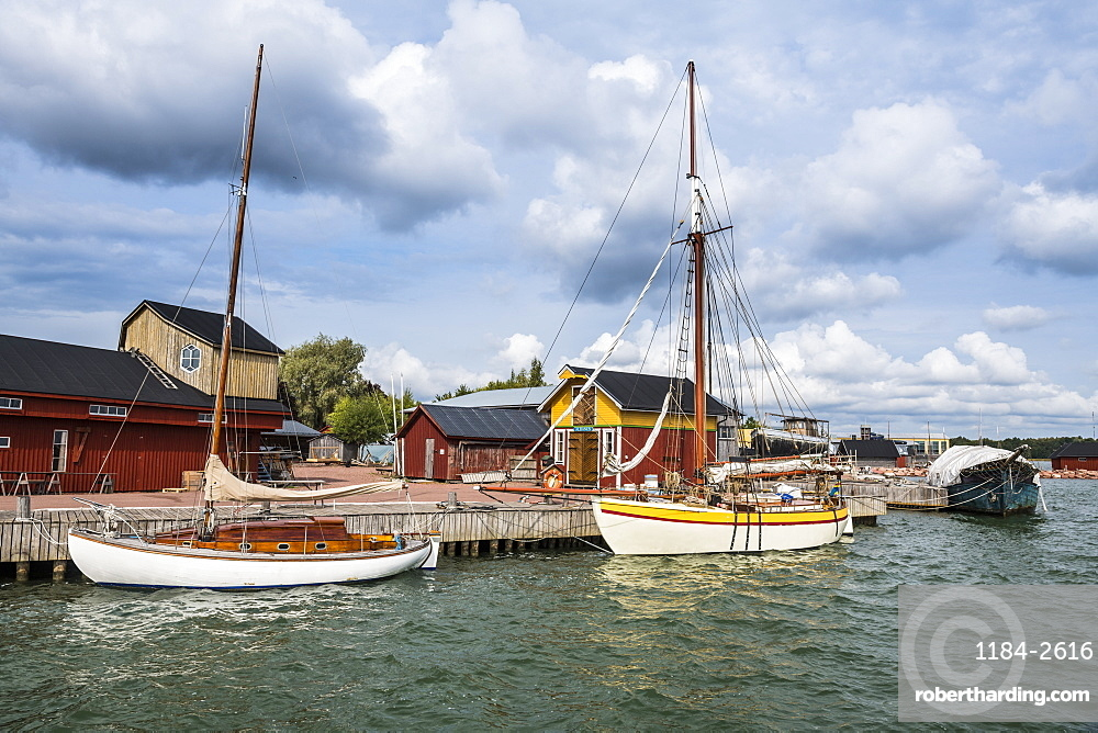 Maritime museum, Mariehamn, Aland, Finland, Europe