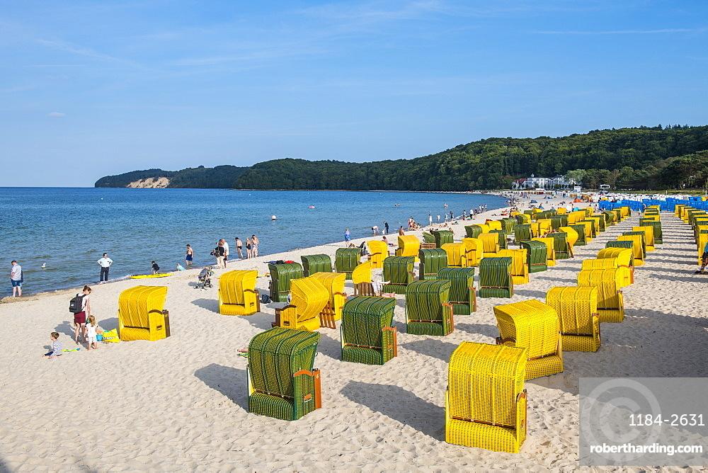 Seaside resort Binz, Island of Rugen, Mecklenburg-Vorpommern, Germany, Europe