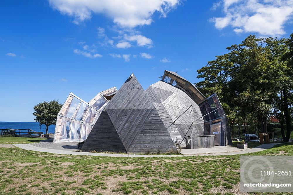 Cultural center, Allinge- Sandvig Sogn, Bornholm, Denmark, Scandinavia, Europe