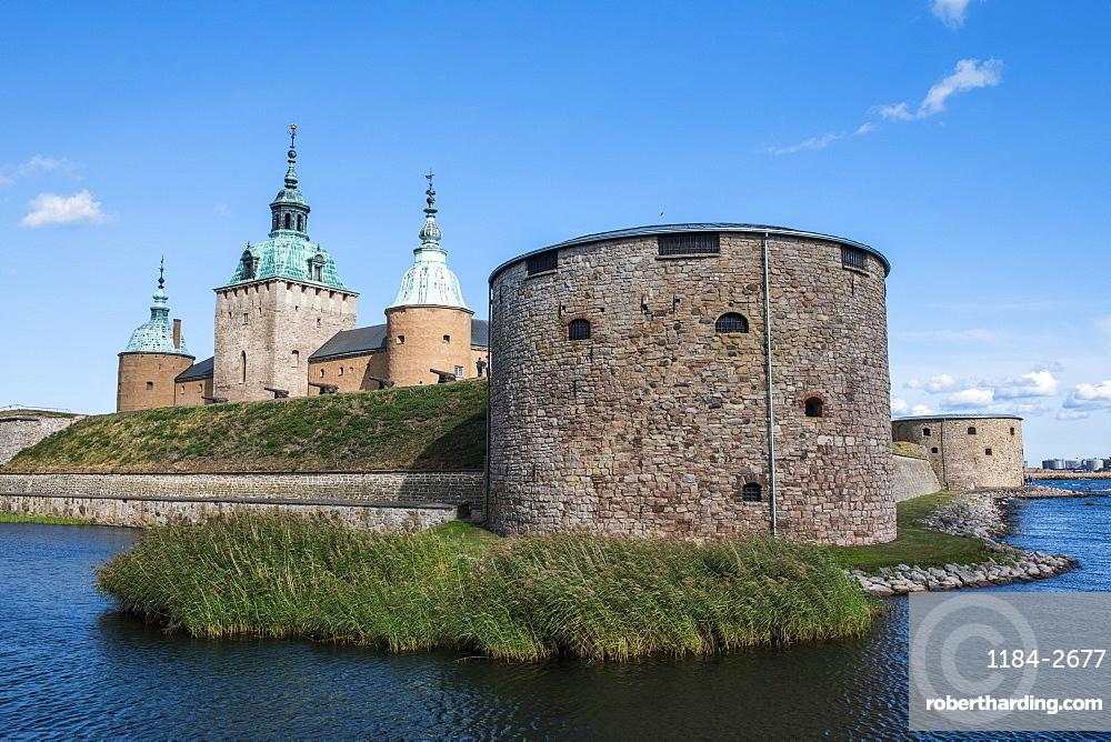 Kalmar Castle, Kalmar, Sweden, Scandinavia, Europe