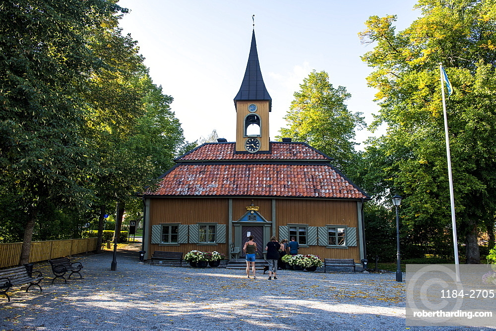 Old town hall of Sigtuna, oldest town of Sweden, Scandinavia, Europe