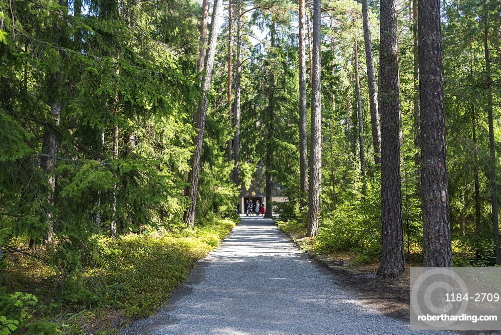 Skogskyrkogarden Cemetery, UNESCO World Heritage Site, Stockholm, Sweden, Scandinavia, Europe