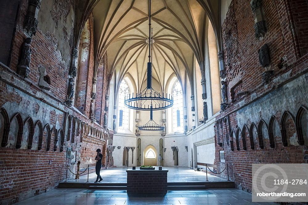 St. Mary's Church, Malbork Castle, UNESCO World Heritage Site, Malbork, Poland, Europe