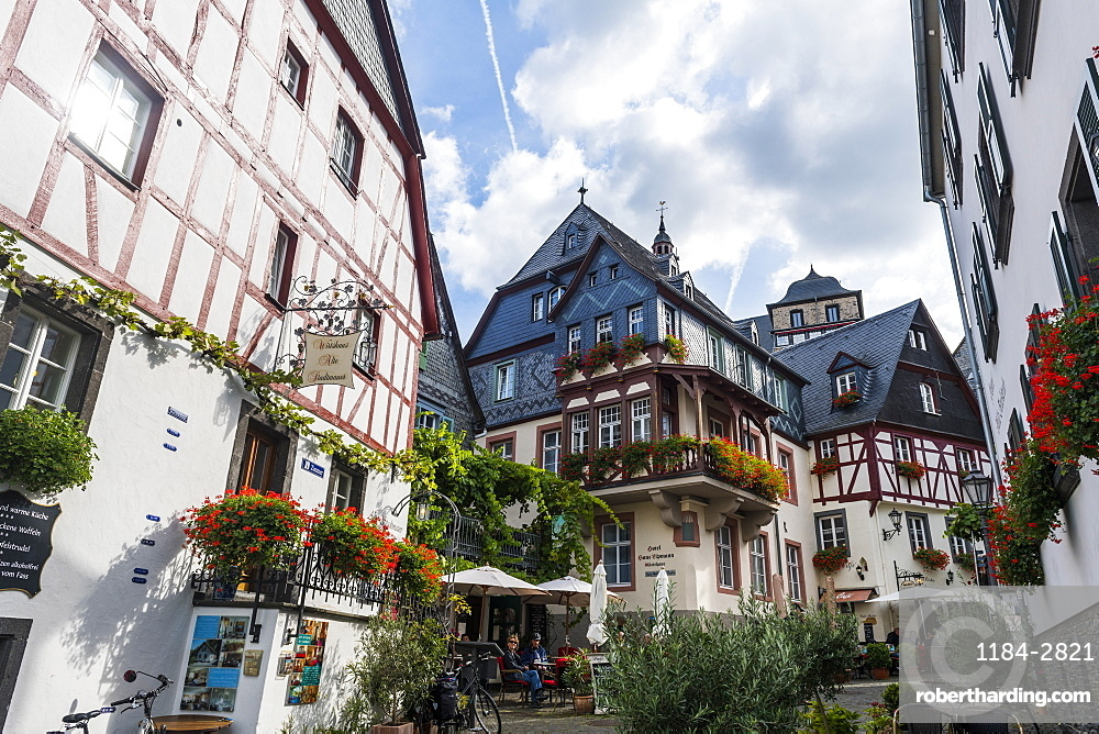 The old town of Beilstein on the Moselle River, Rhineland-Palatinate, Germany, Europe