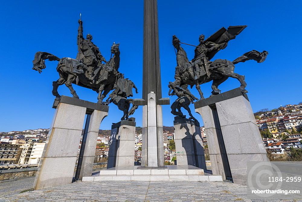 The Monument of Asenevci, Veliko Tarnovo, Bulgaria, Europe