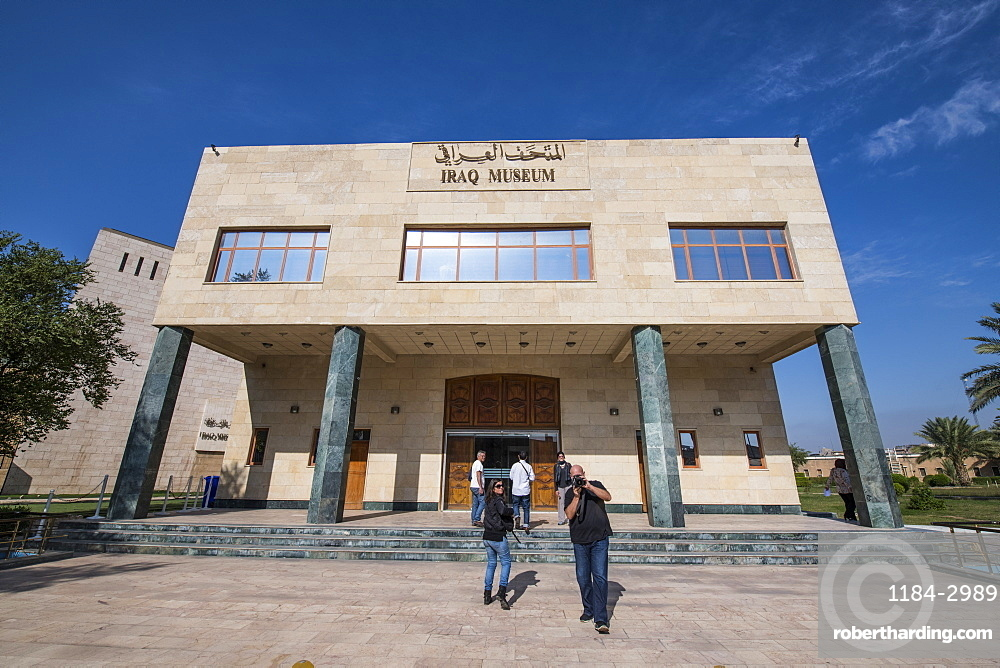 National Museum of Iraq, Baghdad, Iraq, Middle East