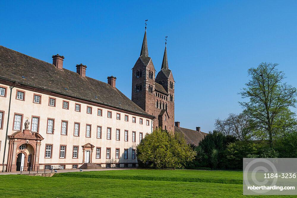 Unesco world heritage sight,Princely Abbey of Corvey, North Rhine-Westphalia, Germany