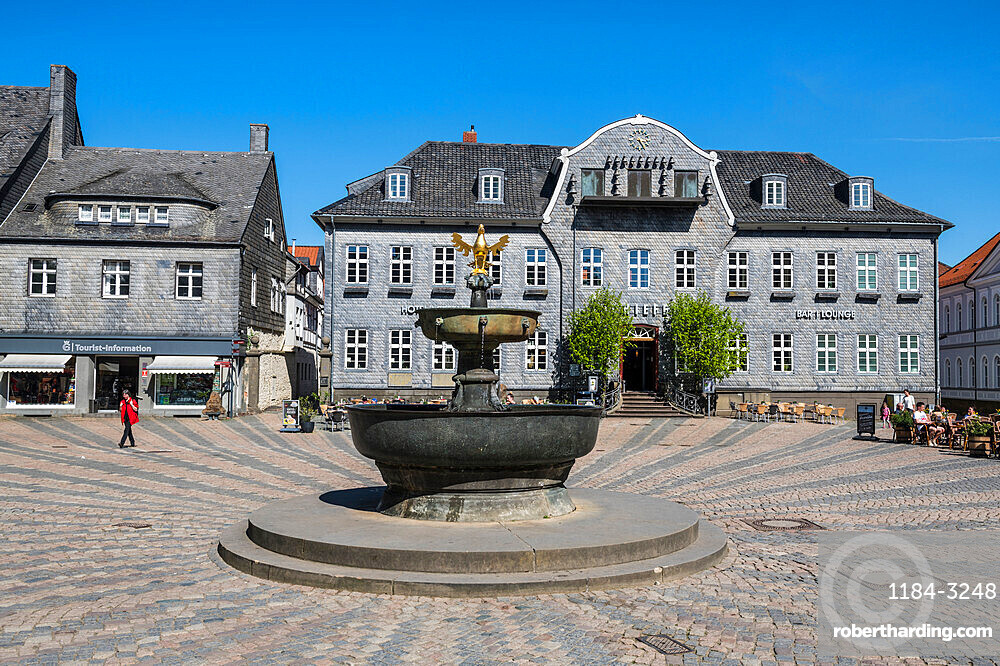 Unesco world heritage sight Goslar, Lower Saxony, Germany