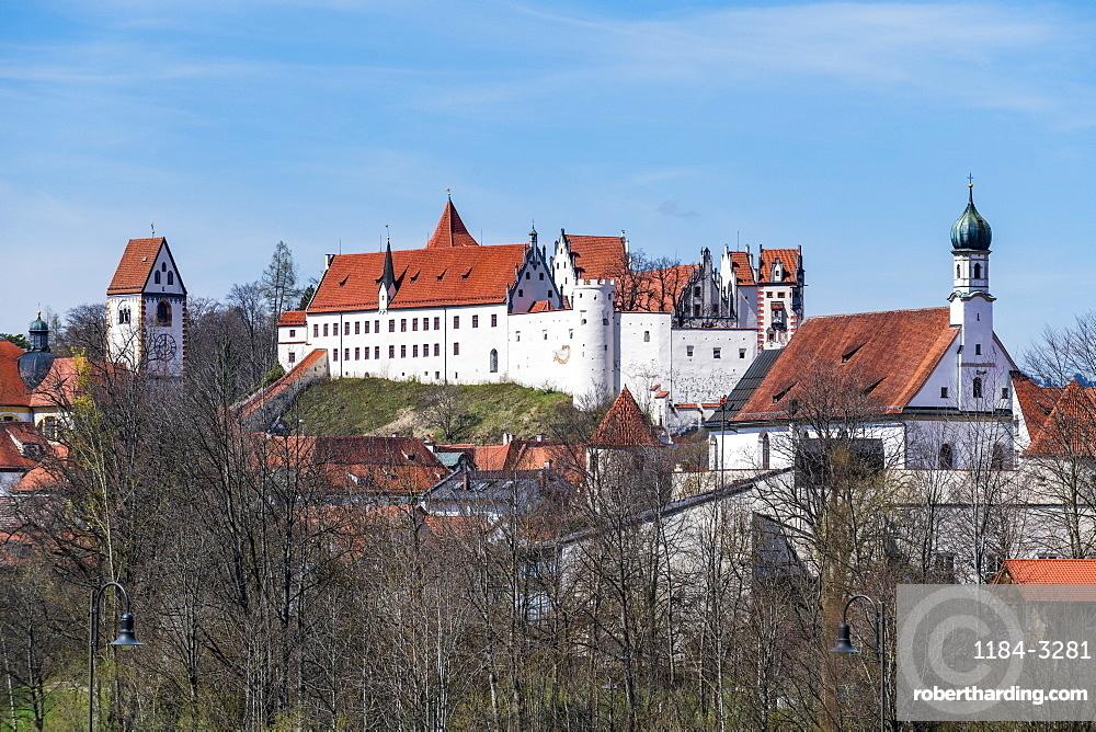 St. Mang Monastery, Fussen, Bavaria, Germany, Europe