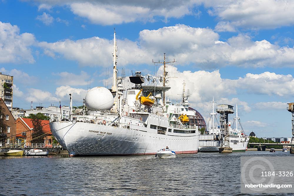 Exhibition ship in the World Ocean Museum, Kaliningrad, Russia, Europe