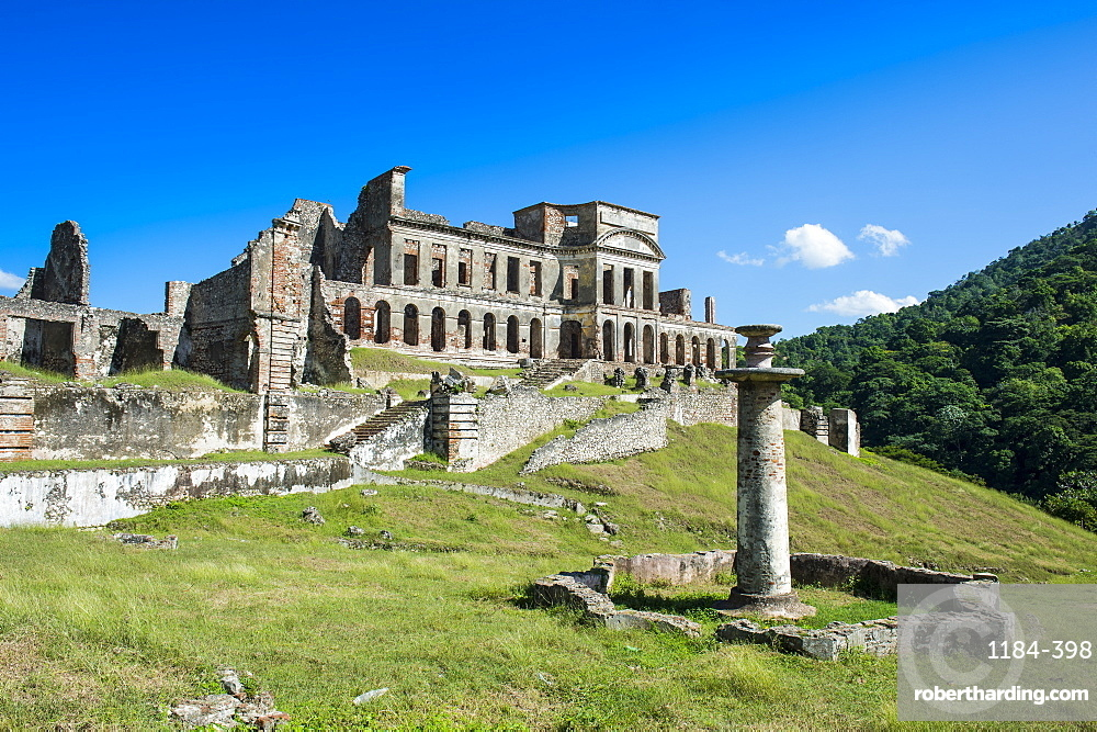 Palace Sans Souci, UNESCO World Heritage Site, Haiti, Caribbean, Central America