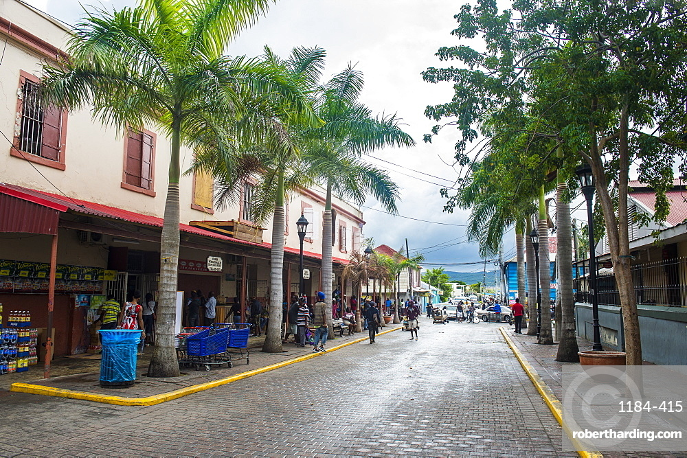 Historical buildings, Falmouth, Jamaica, West Indies, Caribbean, Central America