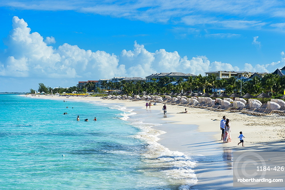 Beach of Beaches resort, Providenciales, Turks and Caicos, Caribbean, Central America