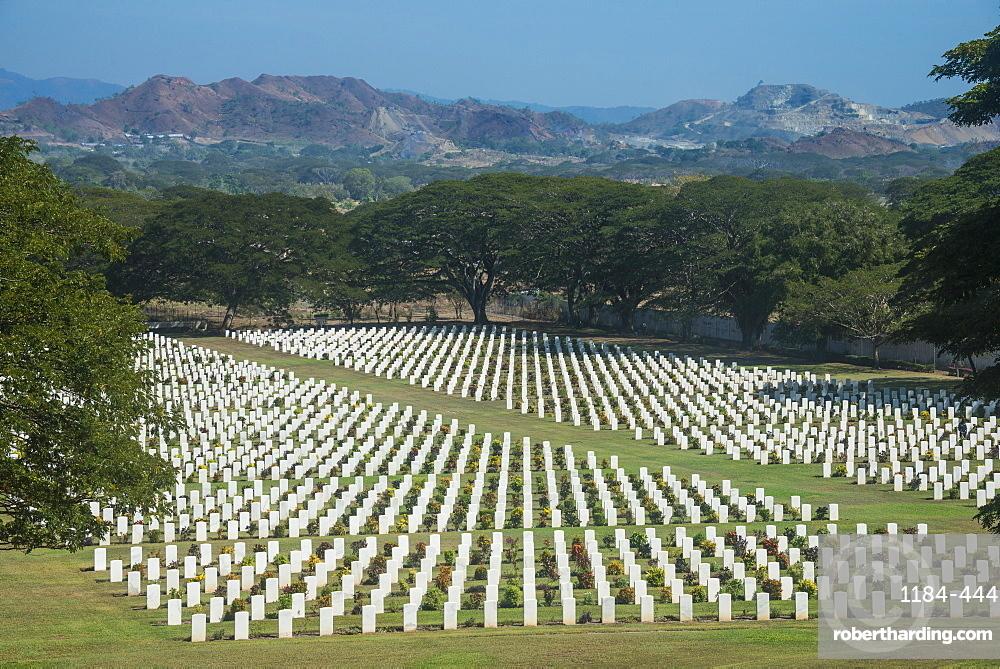 Bomana War Cemetery, Port Moresby, Papua New Guinea, Pacific