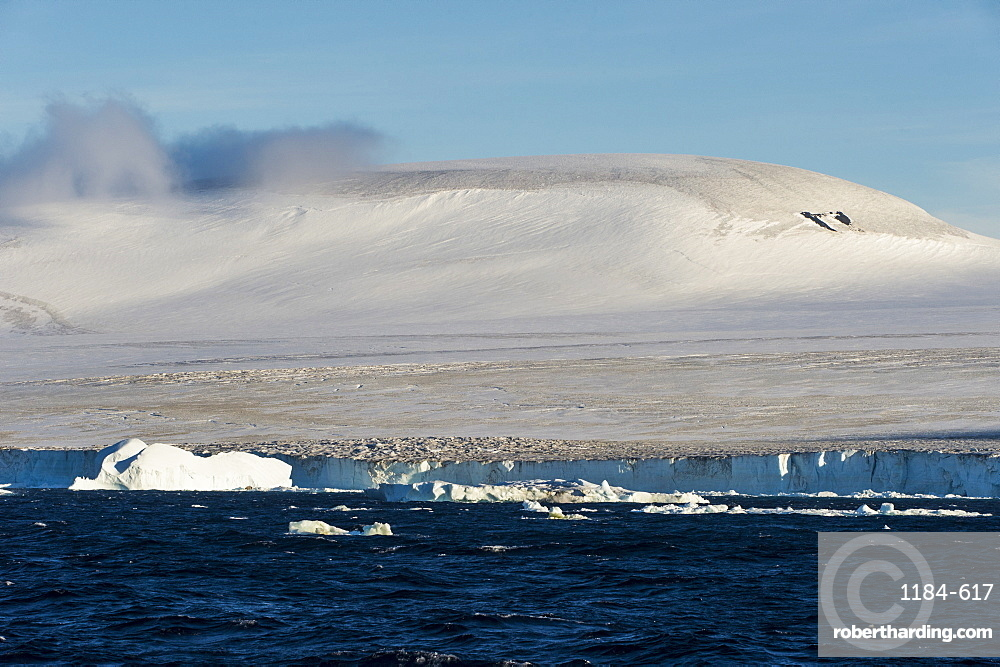 Huge glaciers on Tabarin Peninsula, Antarctica, Polar Regions