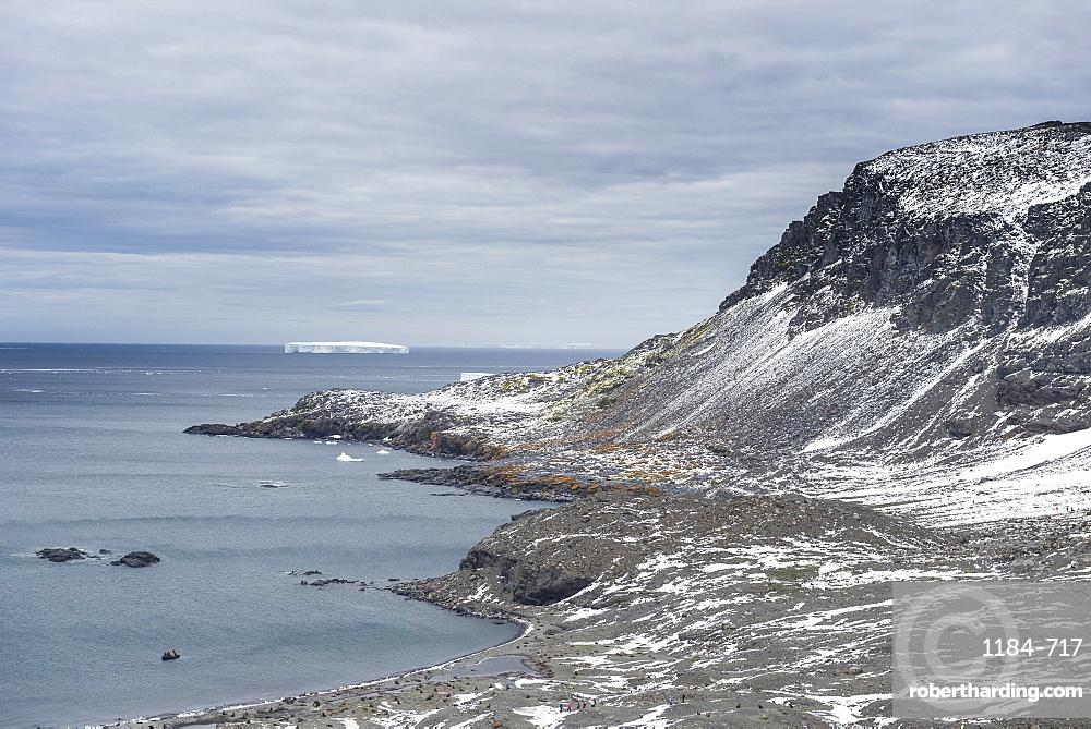 View over Coronation Island, South Orkney Islands, Antarctica, Polar Regions