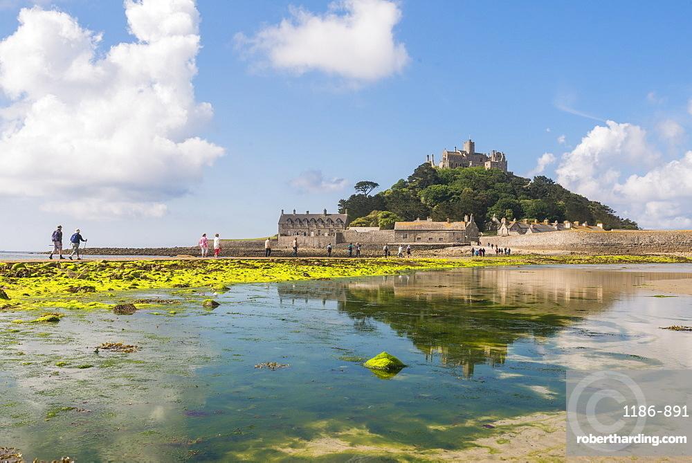 St. Michaels Mount, Marazion, Cornwall, England, United Kingdom, Europe