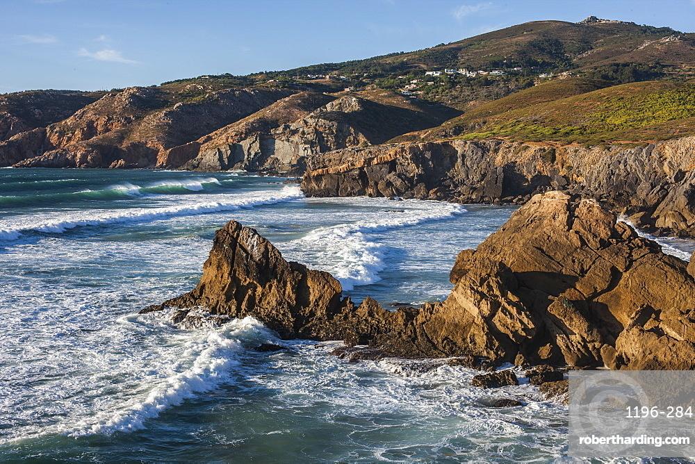 Atlantic Ocean, coast near Lisbon, Portugal, Europe